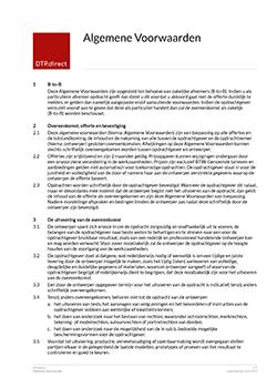 Thumbnail Algemene Voorwaarden document