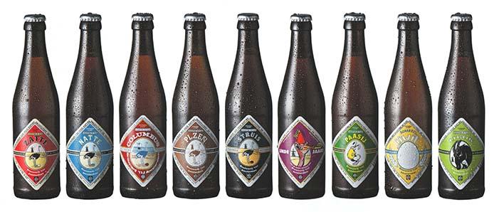 Foto Brouwerij 't IJ bierflesjes
