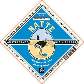 Natte label