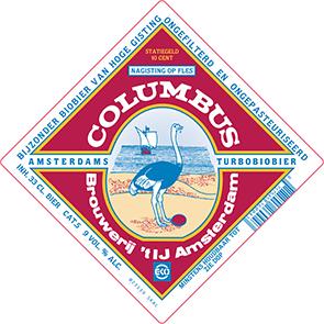 Columbus label
