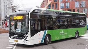Foto Arriva Bus LLE115 onderweg