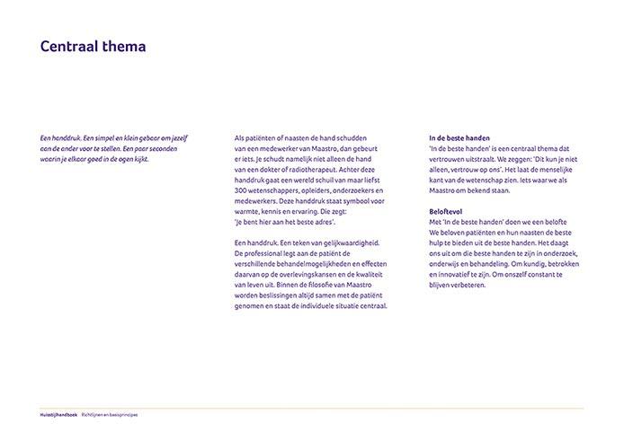 Maastro Corporate Identity Book pagina 04
