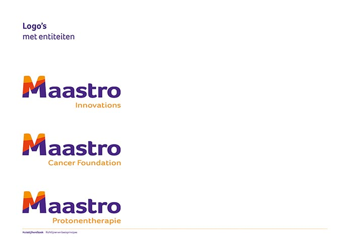 Maastro Corporate Identity Book pagina 07