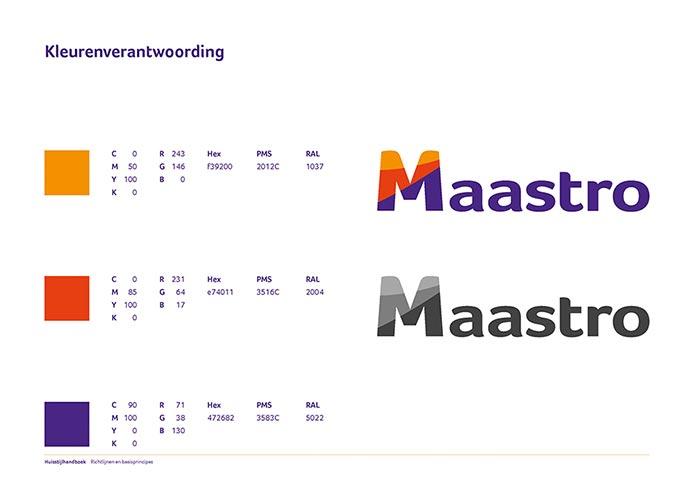 Maastro Corporate Identity Book pagina 08