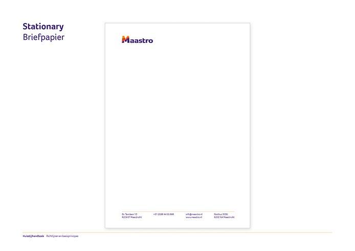 Maastro Corporate Identity Book pagina 11