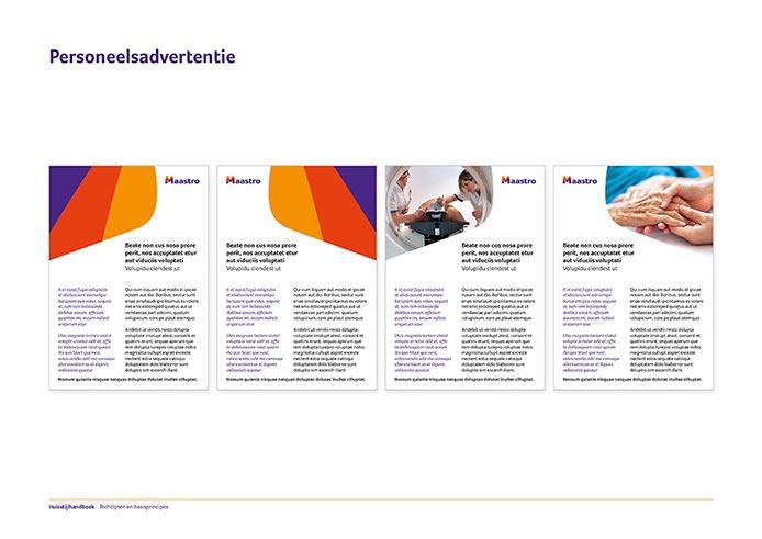 Maastro Corporate Identity Book pagina 17