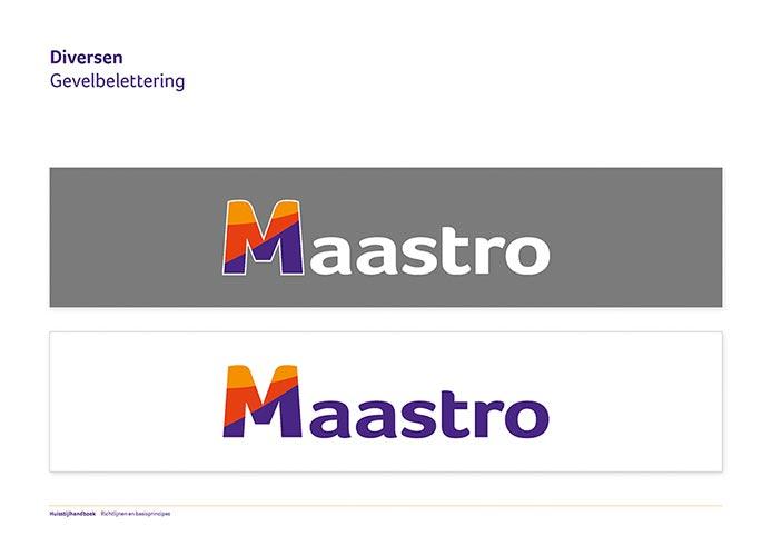 Maastro Corporate Identity Book pagina 19