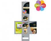 Tassimo package with logo thumb