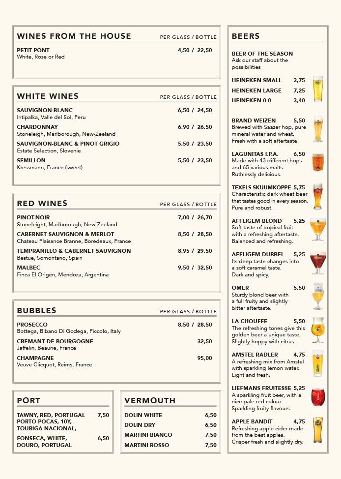 Nieuwe Kafé menukaart pagina 9