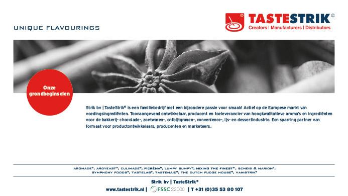 TasteStrik Mission Pagina 3
