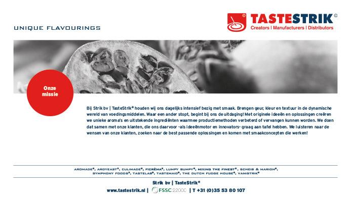 TasteStrik Mission Pagina 4