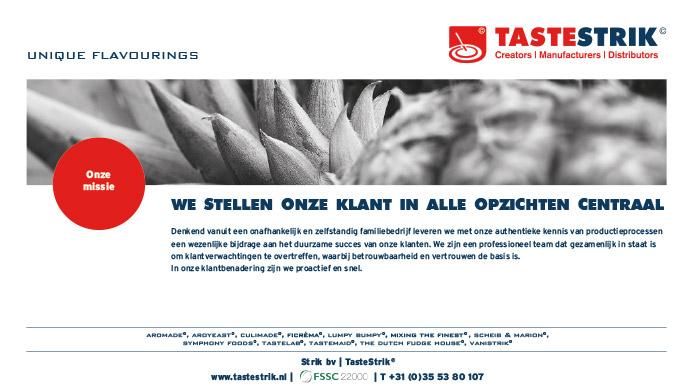 TasteStrik Mission Pagina 5