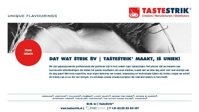 TasteStrik Mission Pagina 6