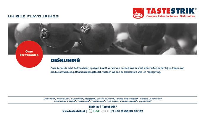TasteStrik Mission Pagina 8