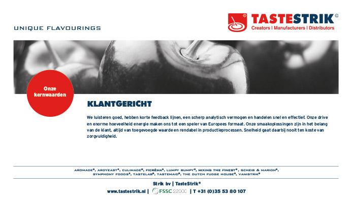 TasteStrik Mission Pagina 9