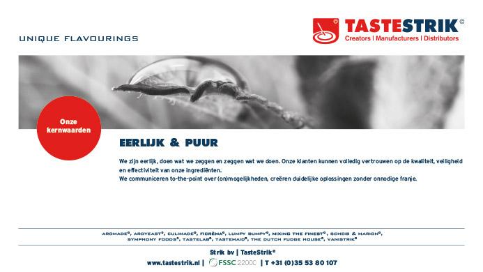TasteStrik Mission Pagina 10