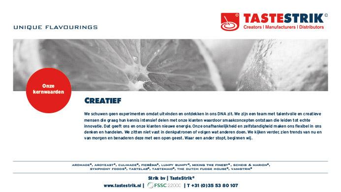 TasteStrik Mission Pagina 11