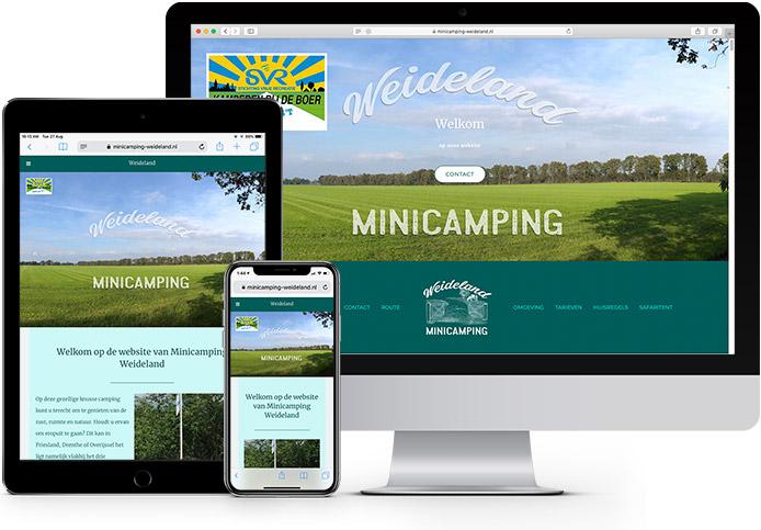 Showcase Minicamping Weideland