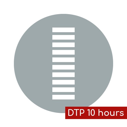 Product icon DTP 10 hours