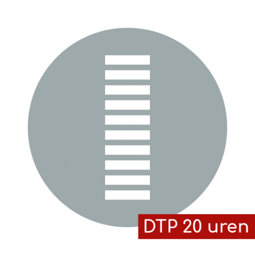 Product icon DTP 20 uren