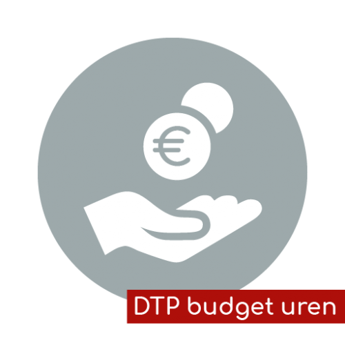 Product icon DTP budget uren