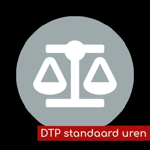 Product icon DTP standaard uren